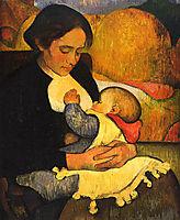 Maternity: Mary Henry Breastfeeding, 1890, haan
