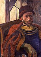 Self-portrait in Breton Costume, 1889, haan