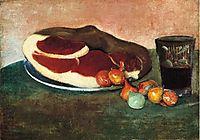 Still Life with Ham, 1889, haan
