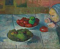 Still life with a profile of Mimi, 1890, haan