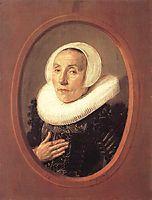 Anna van der Aar, 1626, hals