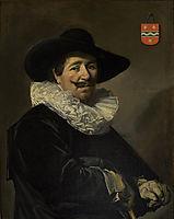 Captain Andries van Hoorn, 1638, hals