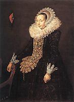Catarina Both van der Eem , c.1620, hals