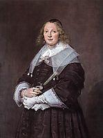 A Dutch Lady , 1643, hals