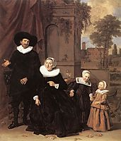 Family portrait, c.1635, hals