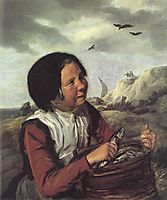Fisher Girl, 1632, hals