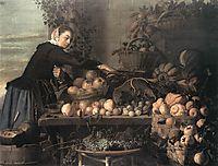 Fruit and Vegetable Seller, 1630, hals