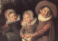 Group of Children (detail), c.1620, hals