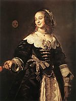 Isabella Coymans, c.1652, hals