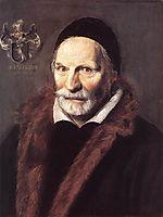Jacobus Zaffius, 1611, hals