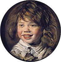 Laughing boy, c.1625, hals