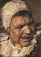 Malle Babbe (detail), 1635, hals