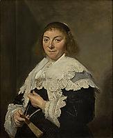Maria Pietersdochter Olycan, 1638, hals