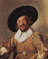 The Merry Drinker, 1630, hals