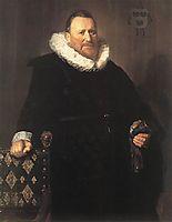 Nicolaes Woutersz van der Meer, 1631, hals