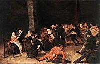 Peasants At A Wedding Feast, hals