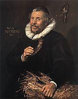 Pieter Cornelisz. Van der Morsch, 1616, hals