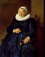 Portait of a woman, 1635, hals