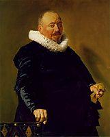 Portrait of an elderly man, c.1630, hals