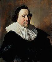 Portrait of an Unknown Man , 1634, hals