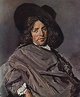 Portrait of an Unknown Man , 1663, hals