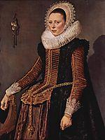 Portrait of an unknown woman, hals