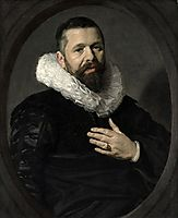 Portrait of a Bearded Man with a Ruff, 1625, hals