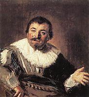 Portrait of Isaac Abrahamsz, 1635, hals
