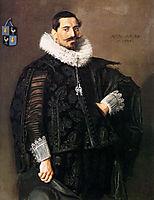Portrait of Jacob Pietersz Olycan, hals