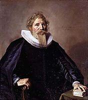 Portrait of a Man, 1633, hals