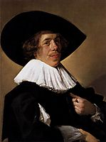 Portrait of a Man, 1633, hals