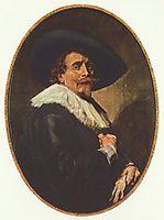 Portrait of a Man, 1638, hals