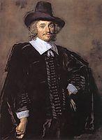 Portrait Of A Man, 1650, hals