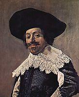 Portrait of a Man, c.1634, hals