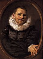 Portrait of a Man, c.1627, hals