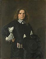 Portrait of a Man, c.1655, hals