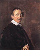 Portrait of a Preacher , c.1660, hals