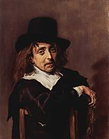 Portrait of a Seated Man, c.1645, hals