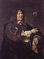 Portrait of Stephanus Geeraerdts, Alderman of Haarlem , hals