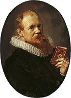 Portrait of Theodorus Schrevelius, 1617, hals