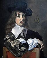 Portrait of Willem Coymans, hals