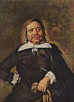 Portrait of Willem Croes, c.1666, hals