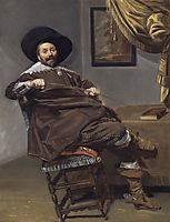 Portrait of Willem van Heythuysen, hals
