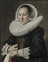 Portrait of a woman, hals