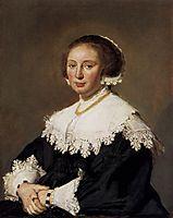 Portrait of a woman, 1633, hals