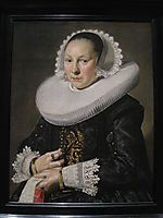 Portrait of a Woman, 1638, hals