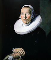 Portrait of a woman, 1644, hals