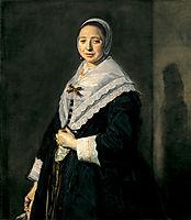 Portrait of a woman, hals