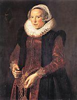 Portrait of a woman , c.1611, hals