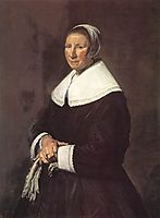 Portrait of a Woman , hals